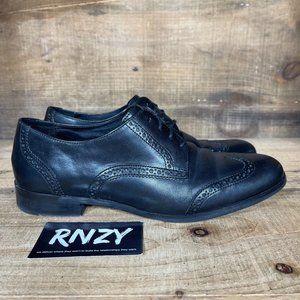 Cole Haan Original Grand Wingtip Black Oxford Shoe